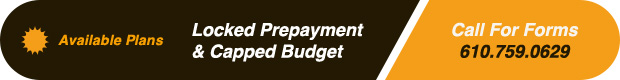 Locked Prepayment Plan and Capped Budget Plans